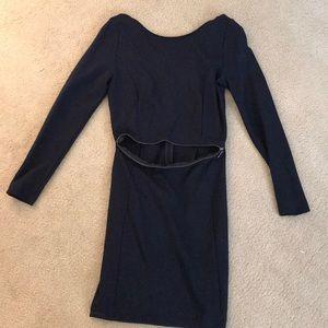 Zara long sleep dress with zipper